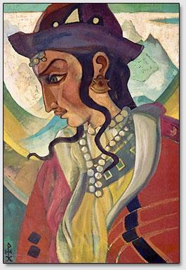 Атлант, Н.К.Рерих, 1921 год